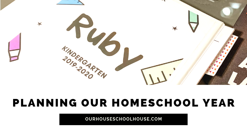 Planning Our Homeschool Year